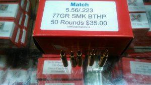 .223 / 5.56N X-Fire 77gr match